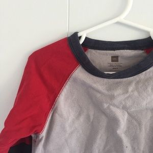 Size 5 Tea Collection color block tee